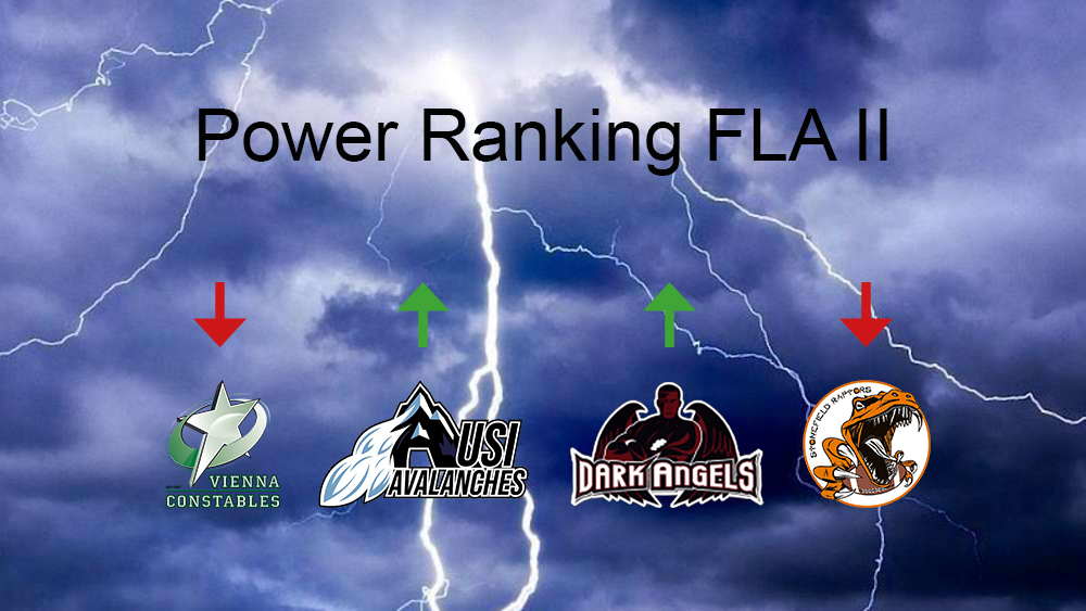 Power Ranking FLA2 Week 2