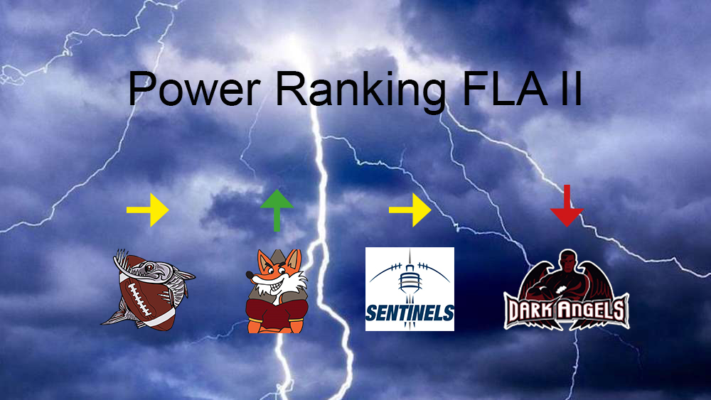 Power Ranking FLA2 Week 4